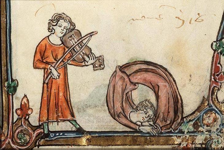 брейк-данс, средневековье, монахи