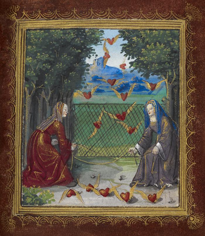 Hearts, сердца, манеры, куртуазный, средневековье