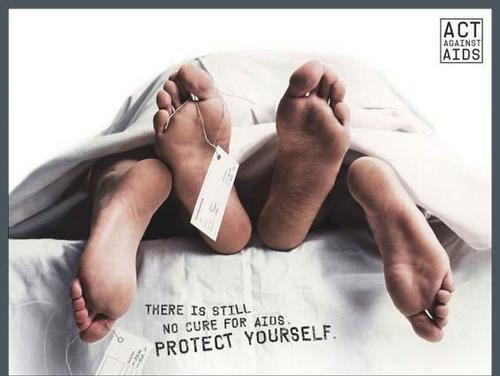 Стоп СПИД, агитация, реклама