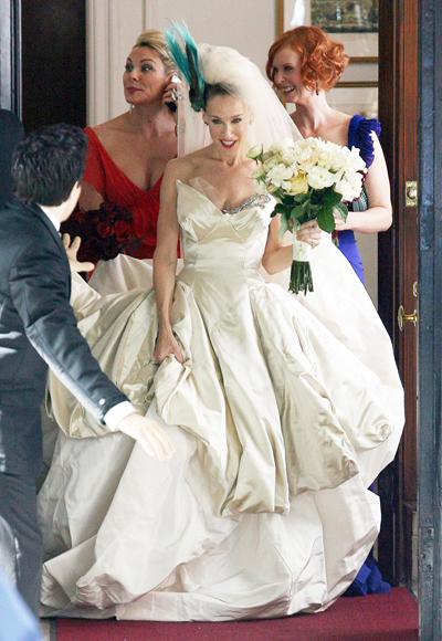 Секс в большом городе, Керри, свадебное платье, Вивьен Вествуд