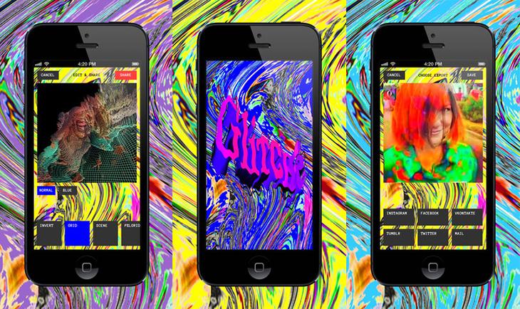 glitch, app, приложение, глюки