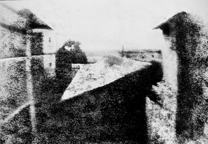 Joseph Niépce, Ньпс, фотография, вид из окна, асфальт