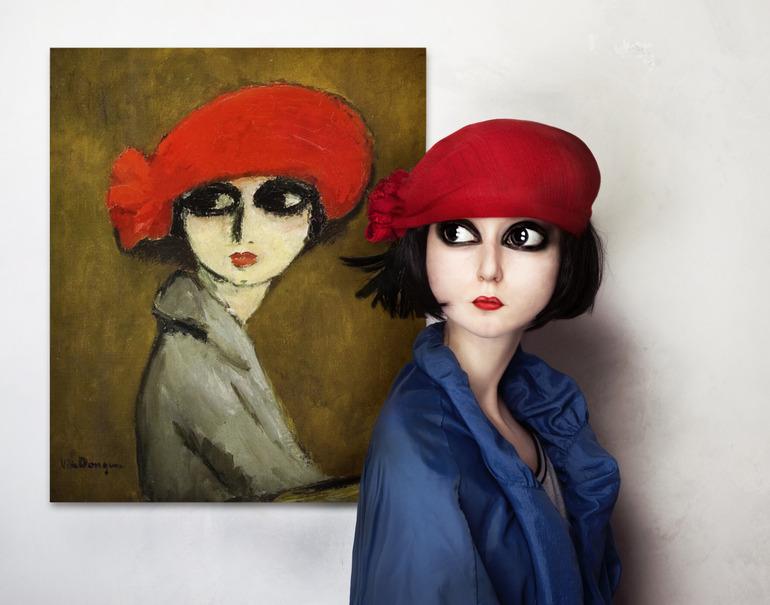 Флора Борси, фото, абстракционизм, картины