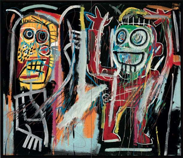 Жан-Мишель Баския, Затуманенные головы, аукцион