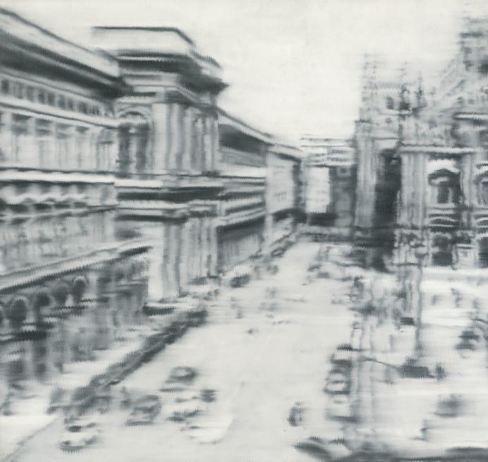 Герхард Рихтер, «Соборная площадь Милана», аукцион