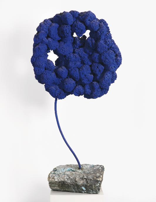 Ив Кляйн, скульптура, синяя губка без названия
