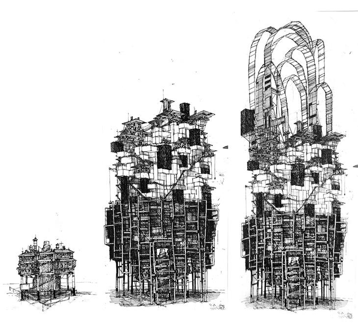 вавилонская башня, строительство, девелоперы