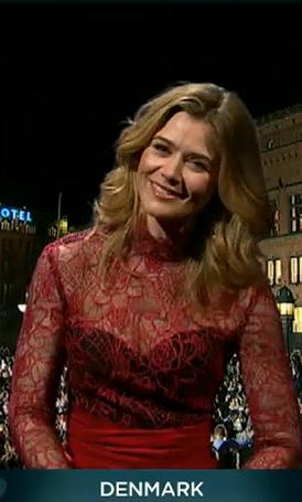 Софи Лассен-Кальке, Евровидение 2013, глашатаи