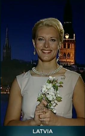 Линда Амантова, Евровидение 2013, глашатаи
