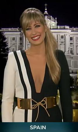 Инес Пас, Евровидение 2013, глашатаи