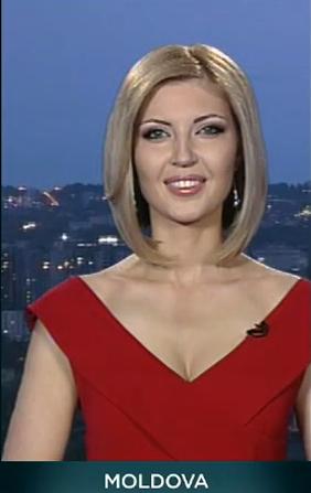 Оливия Фуртунэ, Евровидение 2013, глашатаи