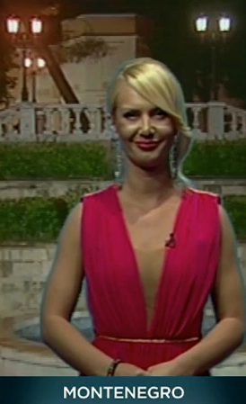 Ивана Шебек, Евровидение 2013, глашатаи