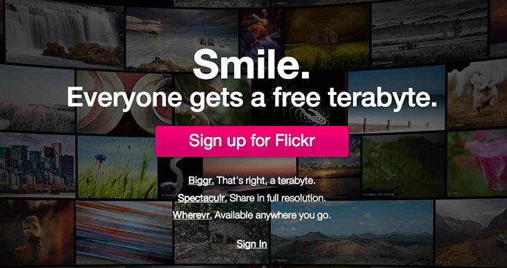 flickr terabyte