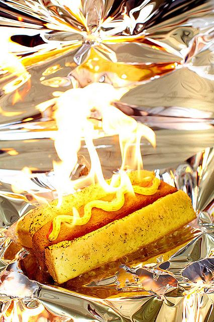 Генри Хагривз, сжигая калории