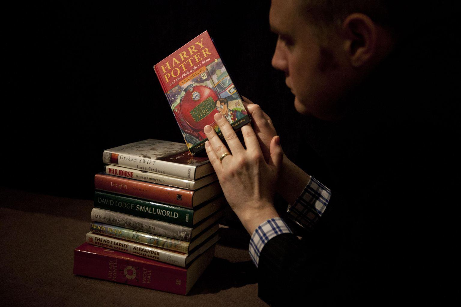 Гарри Поттер, аукцион