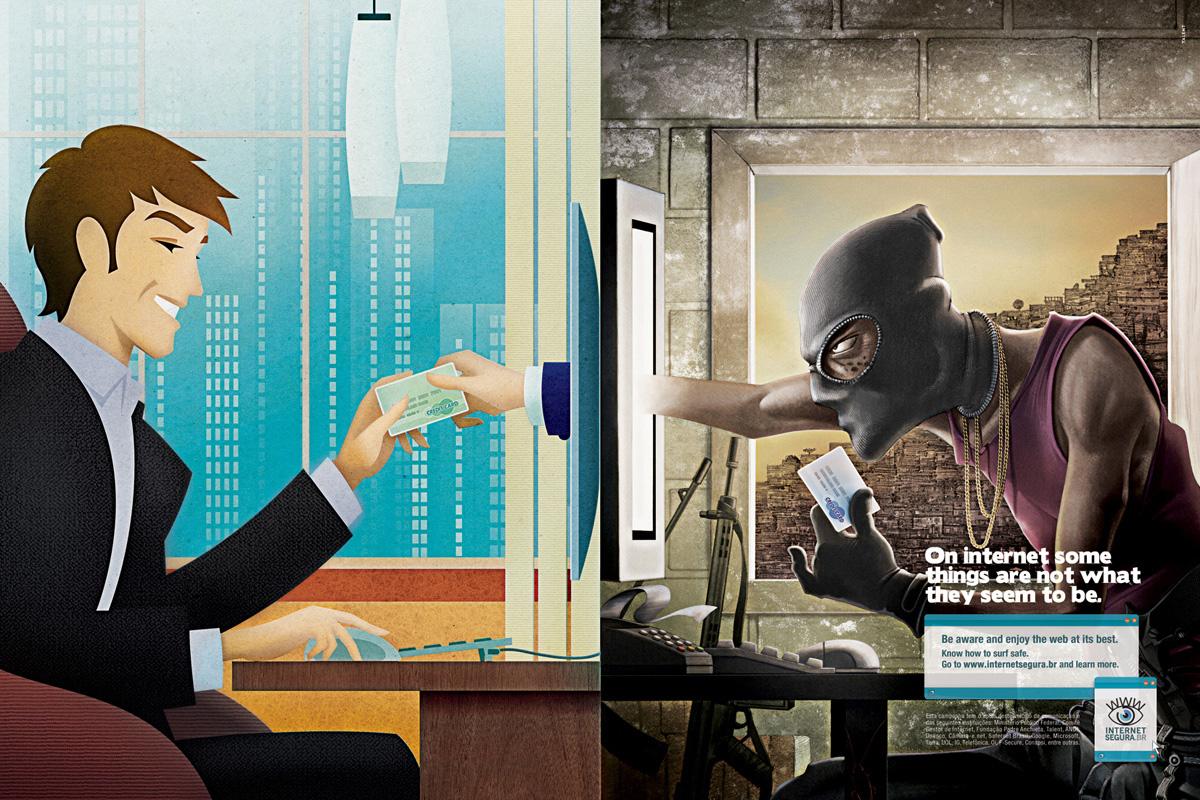 Реклама, Интернет, пропаганда