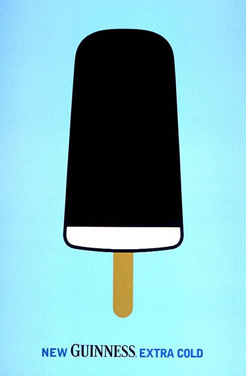 мороженое, пиво, гиннесс, реклама