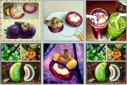 Instagram фруктовый спам