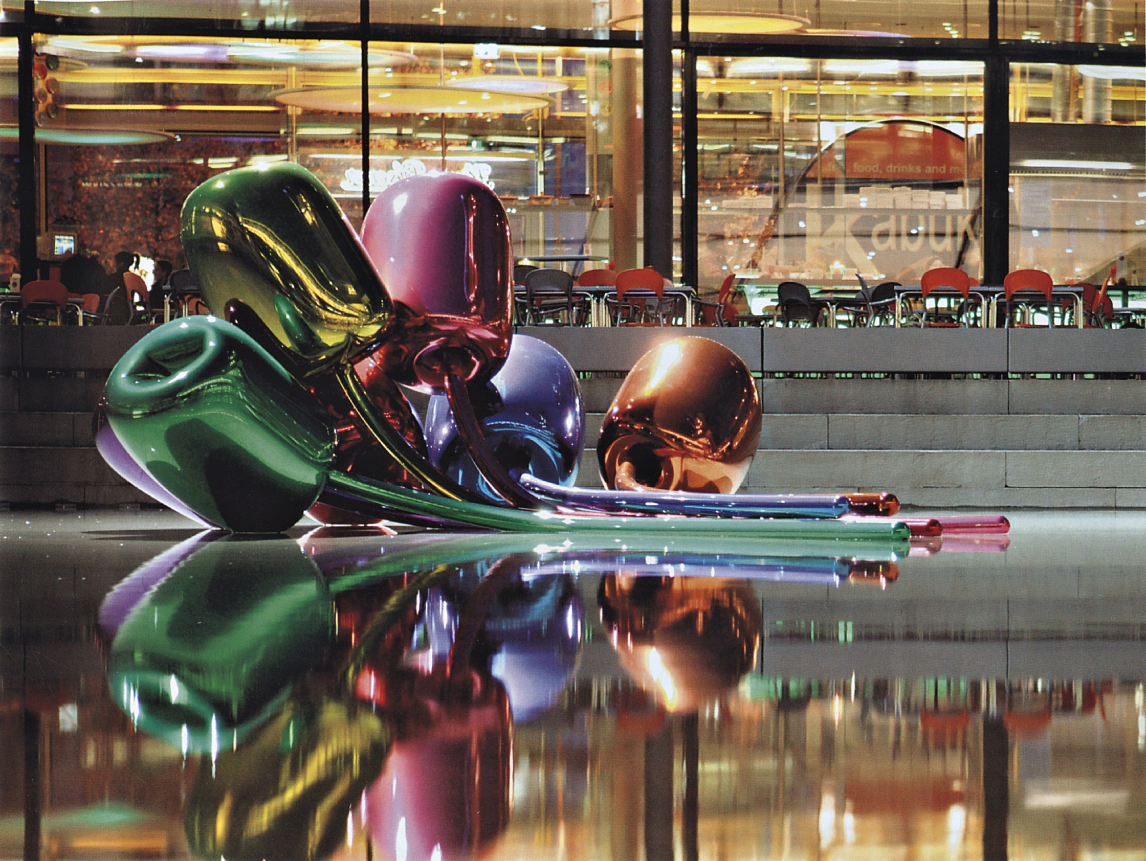 Джефф Кунс, скульптура, тюльпаны