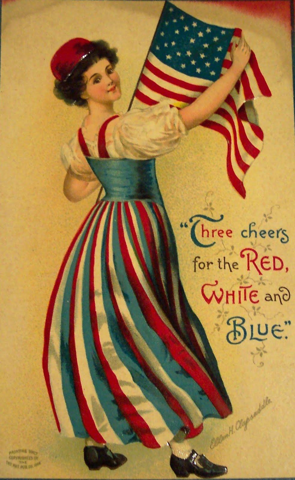 День Независимости США, открытки