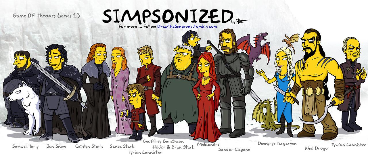 Симпсоны, Игра престолов