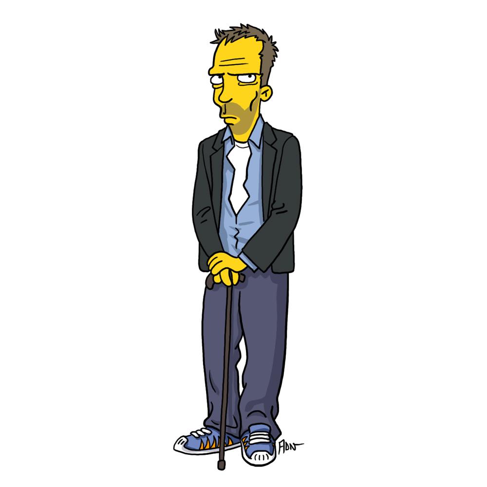 Доктор Хаус, Симпсоны