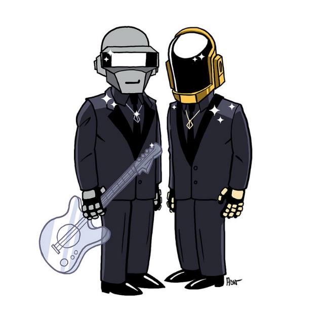 Daft Punk, Симпсоны