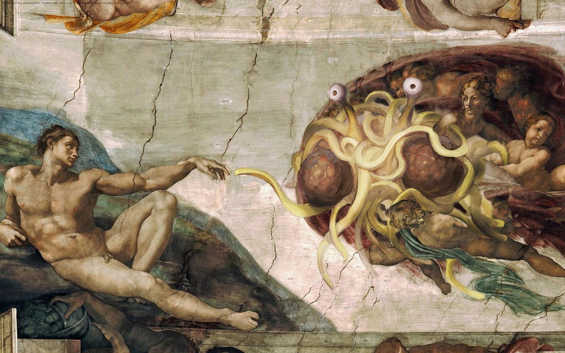 Святые макароны, гугл и единорог: топ выдуманных религий