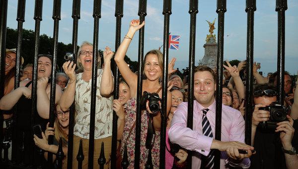 Жители Лондона