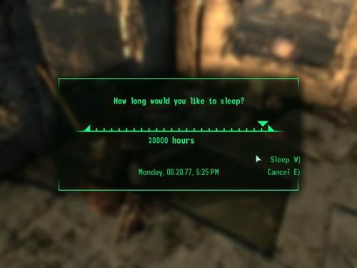 «—Как долго вы бы хотели спать? — 20000 часов»