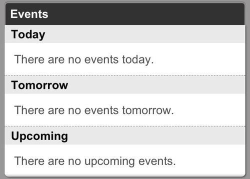 «Сегодня никаких событий. Завтра никаких событий не предвидится. Никаких событий не случится в ближайшем будущем»