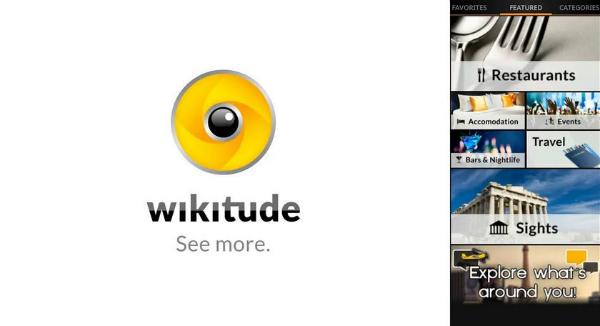 wikitude, приложение, дополненная реальность, AR, iOS, Android