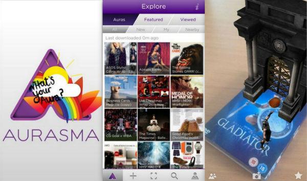 aurasma, приложение, дополненная реальность, AR, iOS