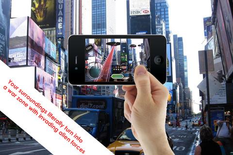 ar invaders, приложение, дополненная реальность, AR, iOS, Android