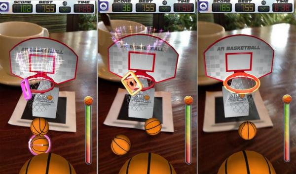 ar basketball, приложение, дополненная реальность, AR, iOS, Android