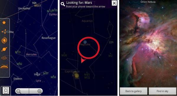 skymap, приложение, дополненная реальность, AR, iOS, Android