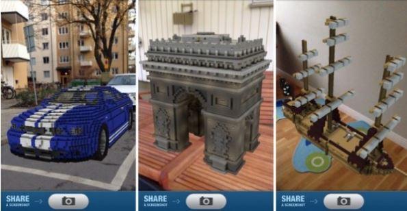 minecraft reality, приложение, дополненная реальность, AR, iOS, Android