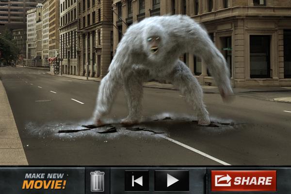 action movie fx, приложение, дополненная реальность, AR, iOS, Android