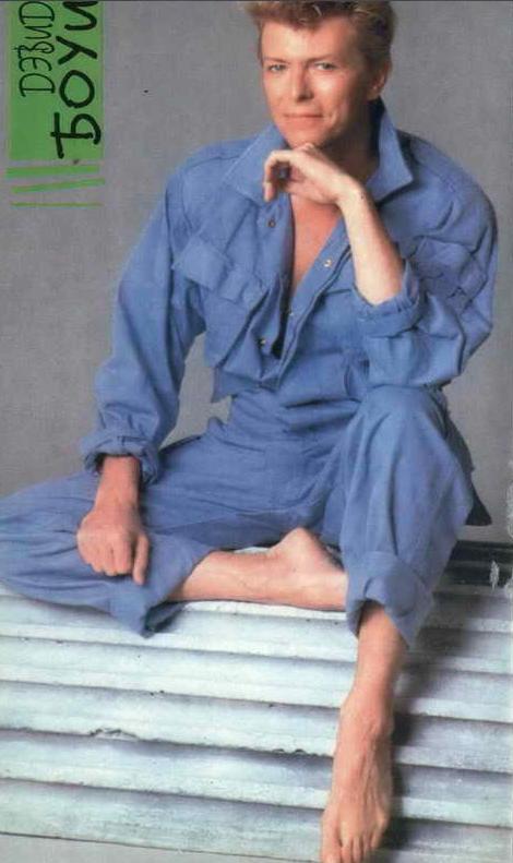 Дэвид Боуи, журнал Смена, постер