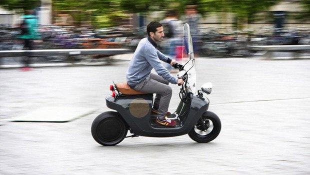 конопляный скутер