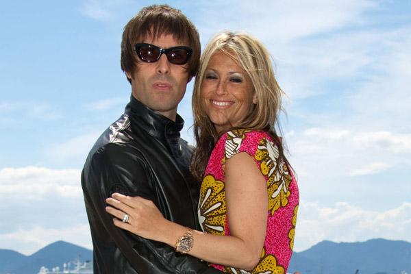 галлахер с женой
