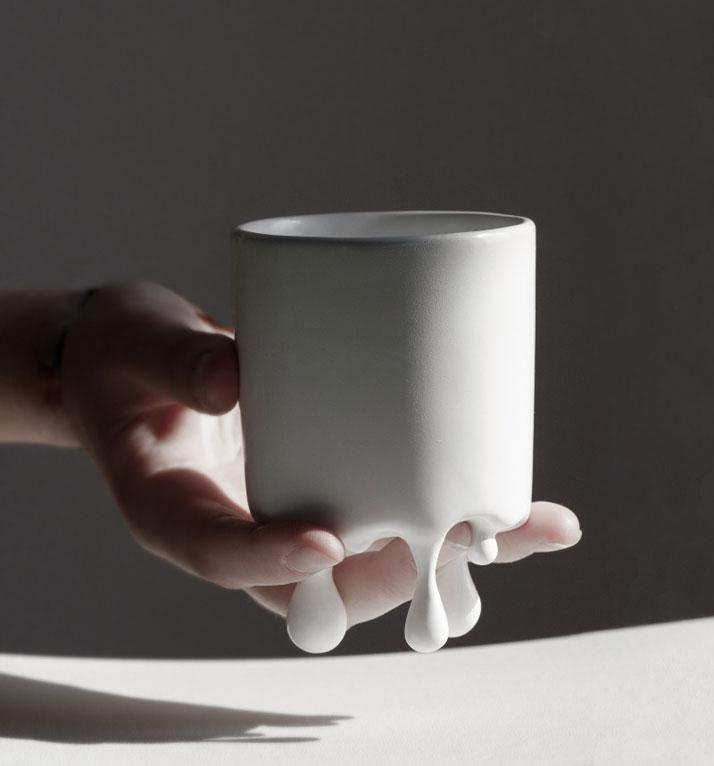 Lenka Czereova, чашка, плавленое