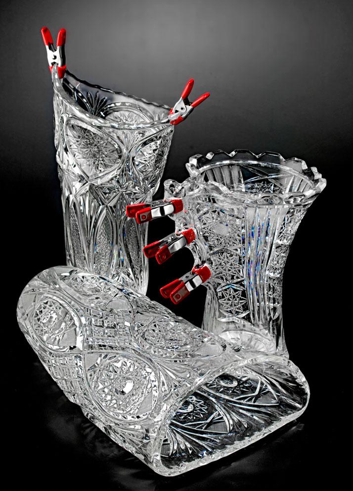 Jakub Berdych, метаморфоза стеклянной вазы