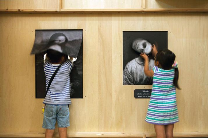 haunted house, токио, дети, музей, искусство