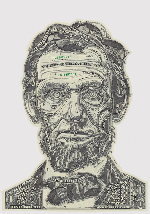 Mark Wagner, Марк Вагнер, Ааврам Линкольн, один доллар, купюра, валюта