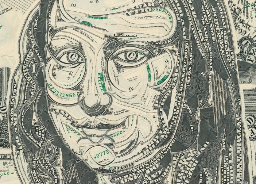 Mark Wagner, Марк Вагнер, США, один доллар, купюра, валюта, Мона Лиза