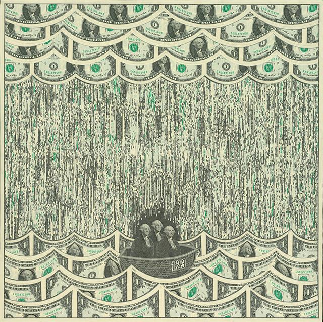 Mark Wagner, Марк Вагнер, США, один доллар, купюра, валюта