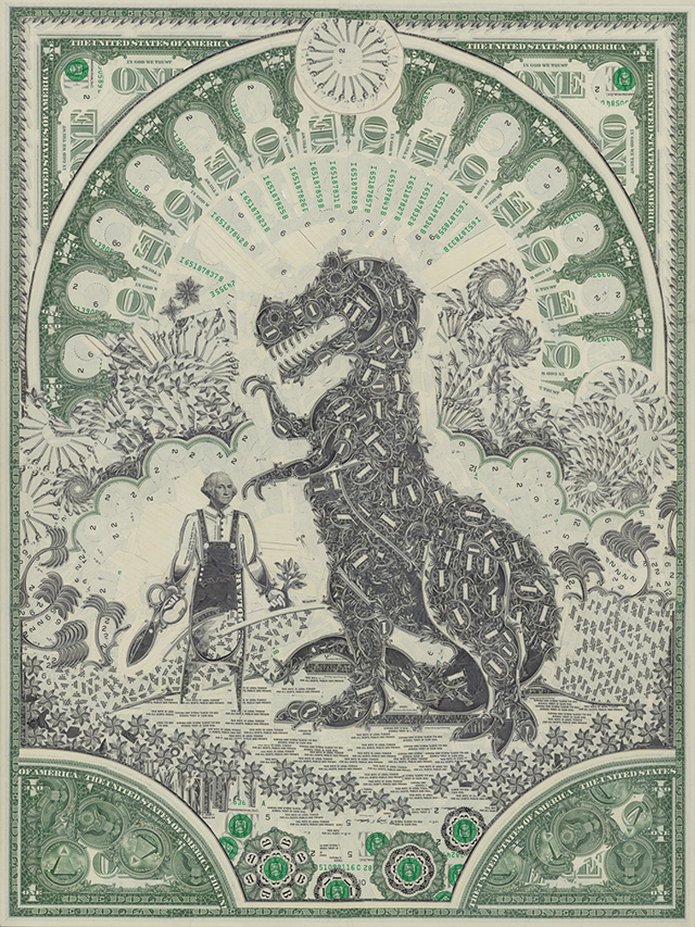 Марк Вагнер, один доллар, купюра, валюта