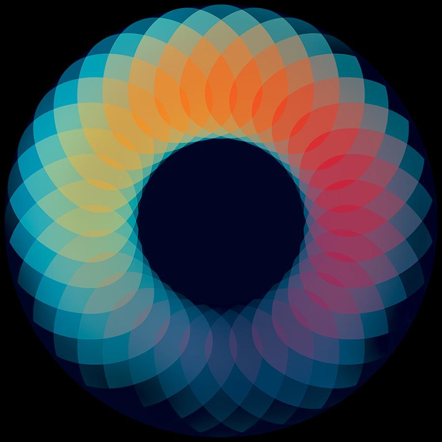 Andy Gilmore, калейдоскоп, геометрия, математика