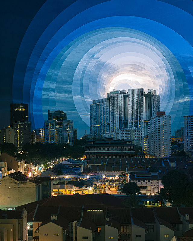 Fong Qi Wei, время, фотография, коллаж
